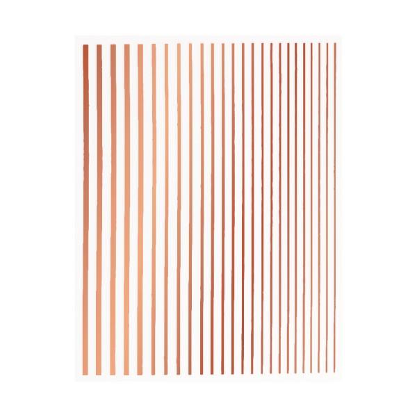 JUSTNAILS Flexible Stripes Set pink gold
