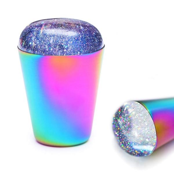 Stamping Kissen Jelly XL rainbow holo