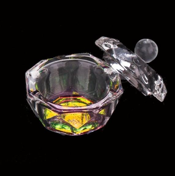 Dappen Dish Diamant mit Deckel