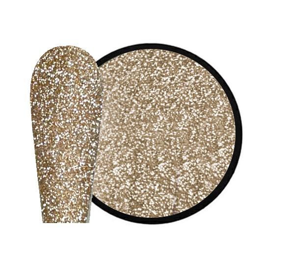 JUSTNAILS New Flash Glitter 02 - gold