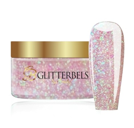 GLITTERBELS PEACH CRUSH