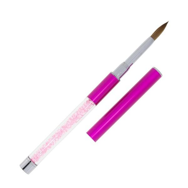 Premium Kolinsky Acryl Pinsel violett - Gr.8 03