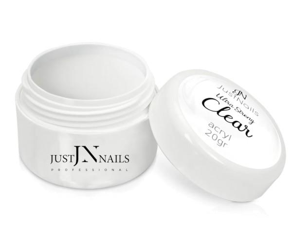 JUSTNAILS Acryl Premium Clear 20g Basic Jar White