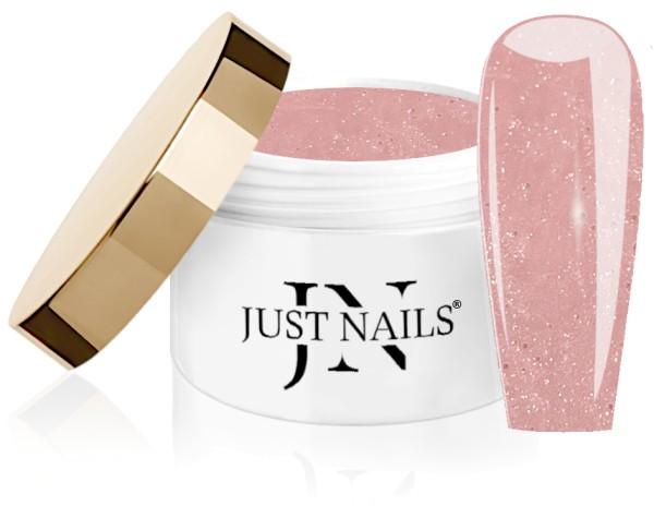 JUSTNAILS Cover Fibre Glace - Sparkly Ballerina Shoes