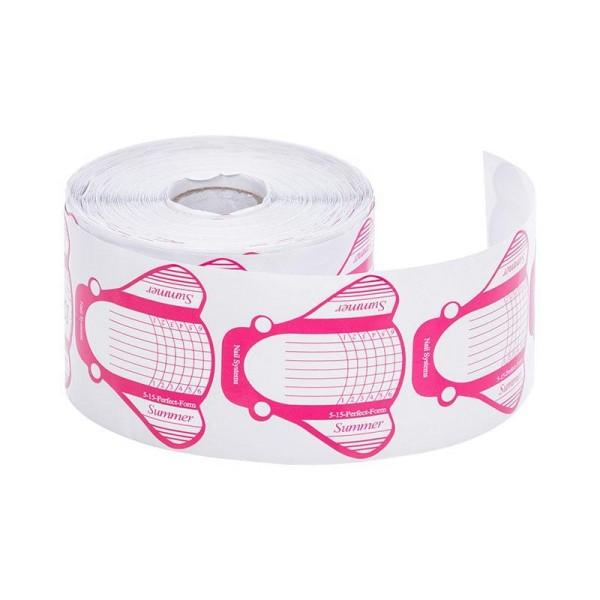 500 Modellier Schablonen breit rosa