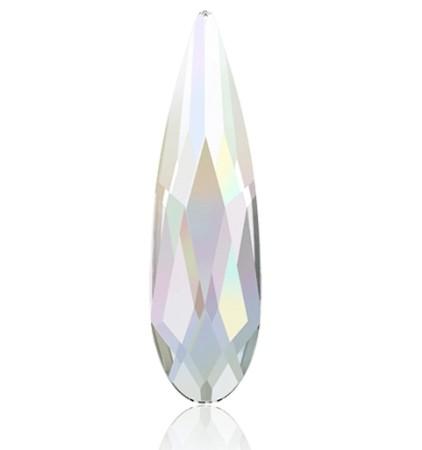 Swarovski® Raindrop Crystal AB groß