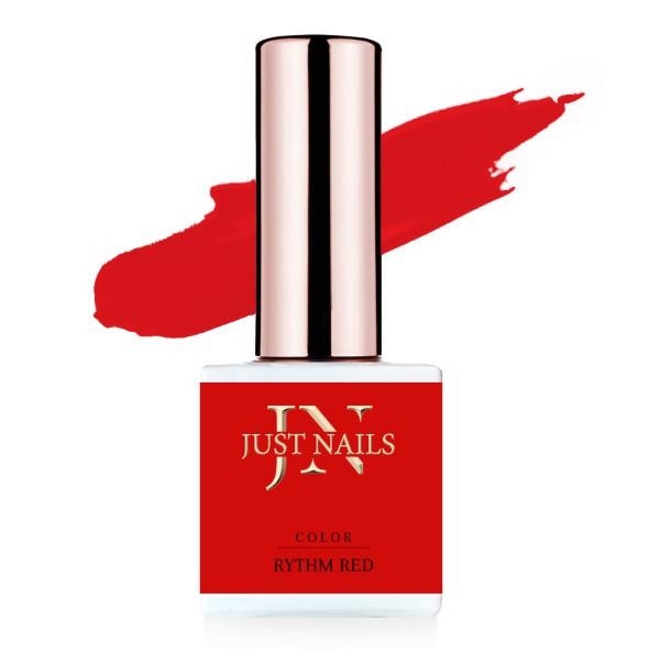 JUSTNAILS Flexi Colour - Rythm Red - Polish Shellac Soak-off Gel 12ml