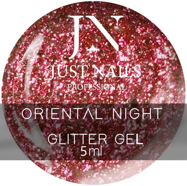JUSTNAILS Oriental Night - Chrome Effect Gel