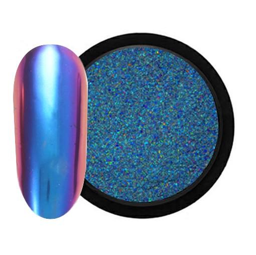 JUSTNAILS Mirror-Glow Nagel Pigment - Over the Moon
