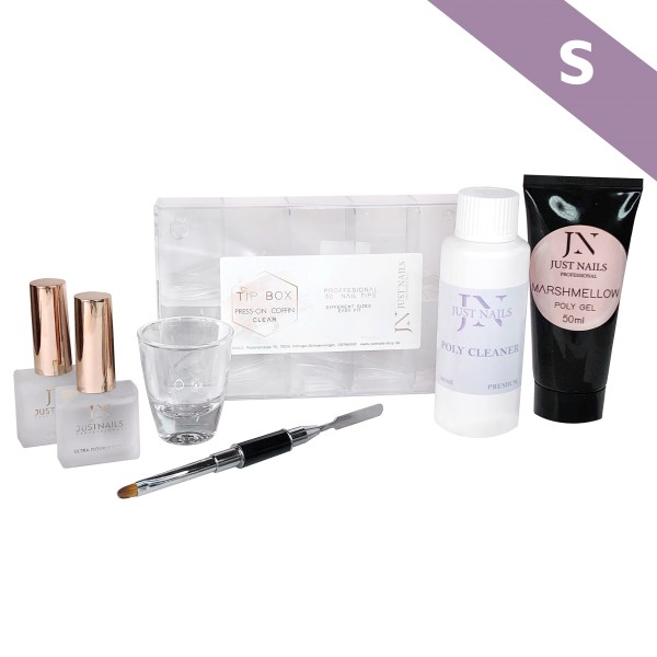 JUSTNAILS Premium Polygel Press-on Starter Set